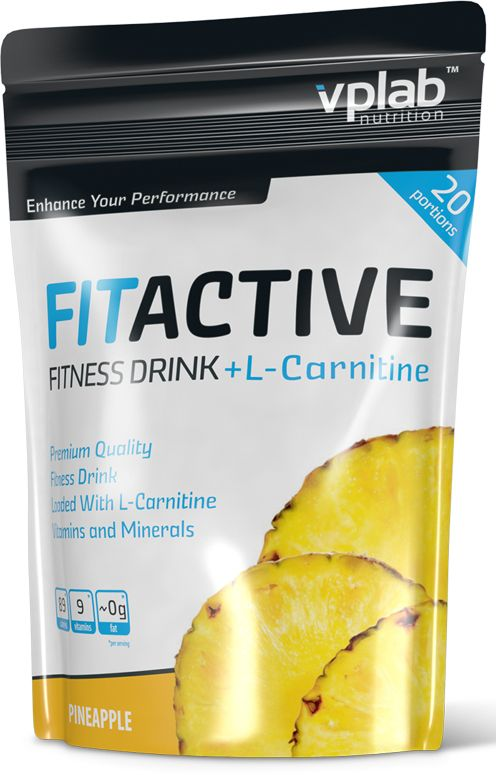FitActive Fitness Drink + L-Carnitine  (500 гр.)