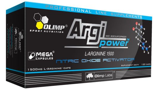ARGI POWER L-Arginine 1500mg (120 капс.)