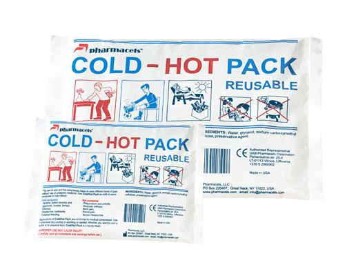 Cold/Hot Pack Reusable (15 cм x 22,5 см.) (350 гр.)